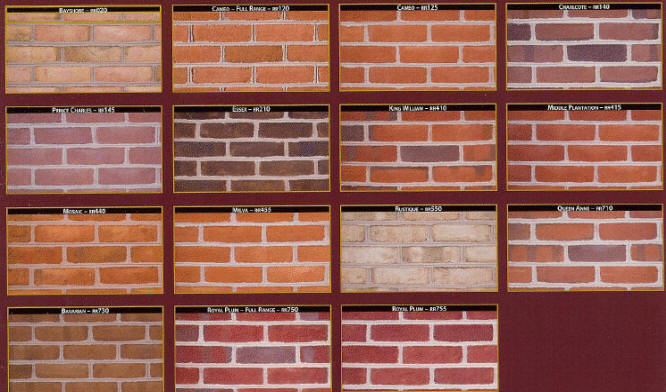 Brick types and styles related keywords brick types and for Brick types and styles